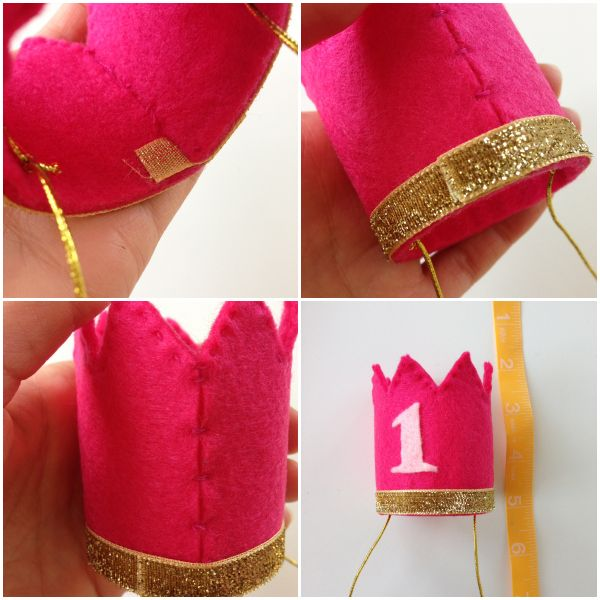DIY Felt Birthday Crown