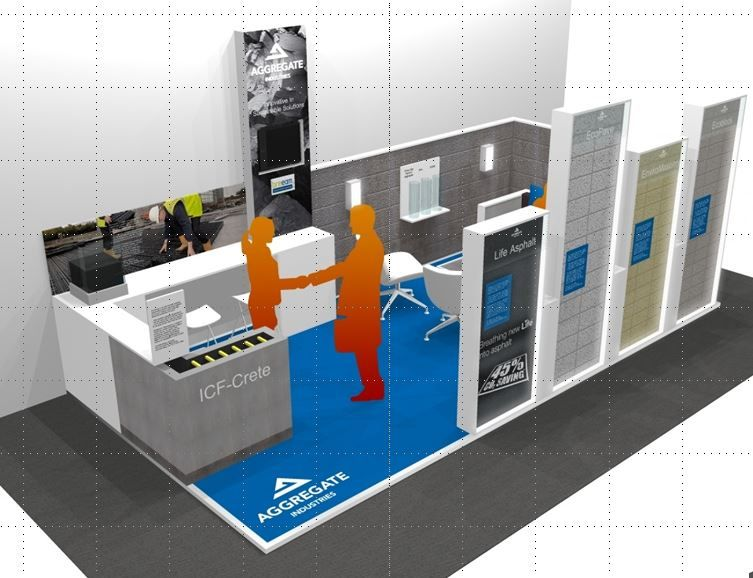 Exhibition Stand Construction Materials : Aggregate industries innovation in sustainable