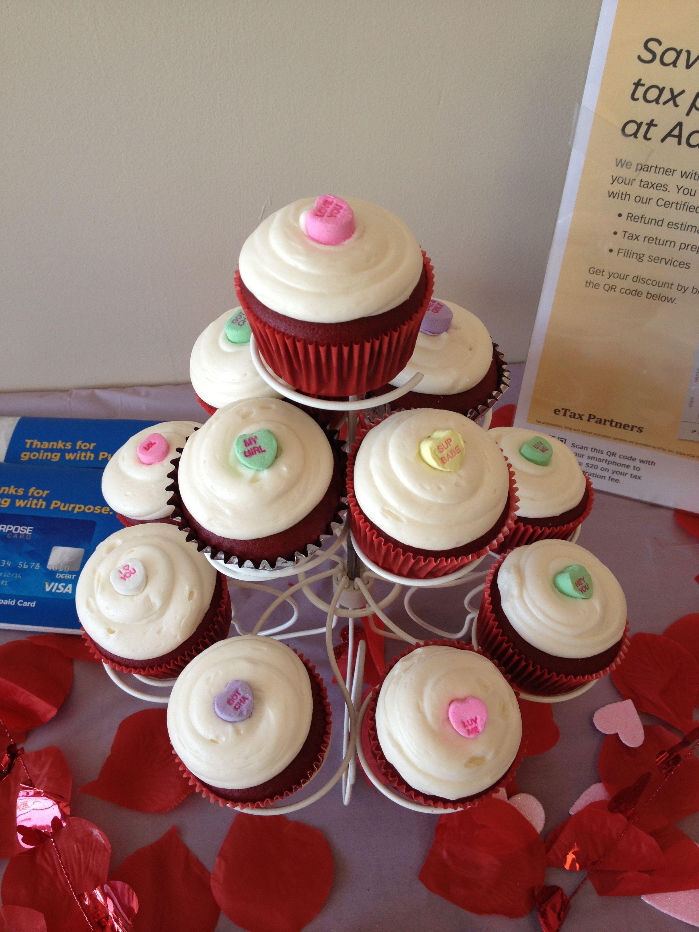 Valentine's Cup Cakes :)
