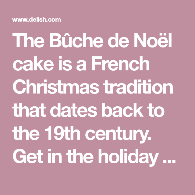 This Is The Easiest, Dreamiest Bûche de Noël EVER