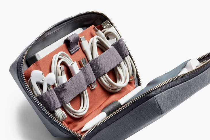 Tech Kit | A clever zip pouch to store your tech accessories | Bellroy