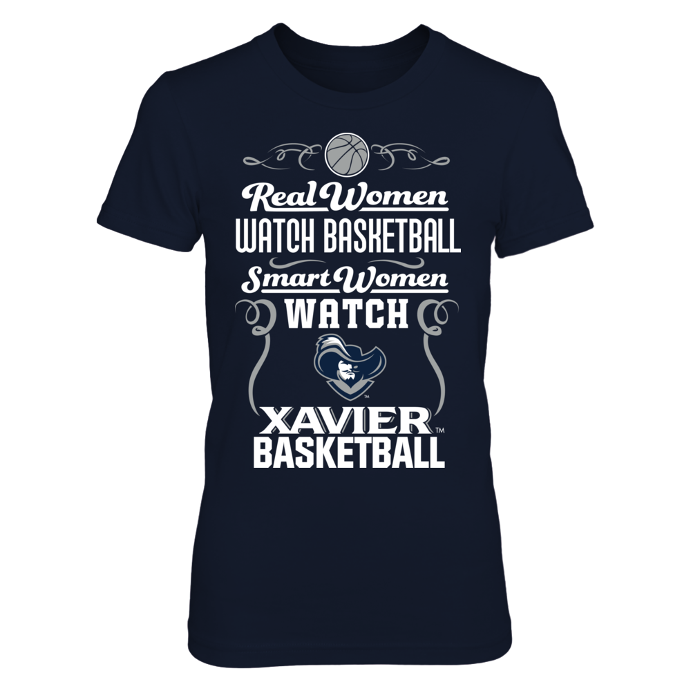 a4086e7f5b8 Xavier Musketeers - Real Woman Smart T-Shirt Xavier Musketeers - Official  Apparel - this licensed gear is the perfect clothing for fans. Makes a fun  gift!