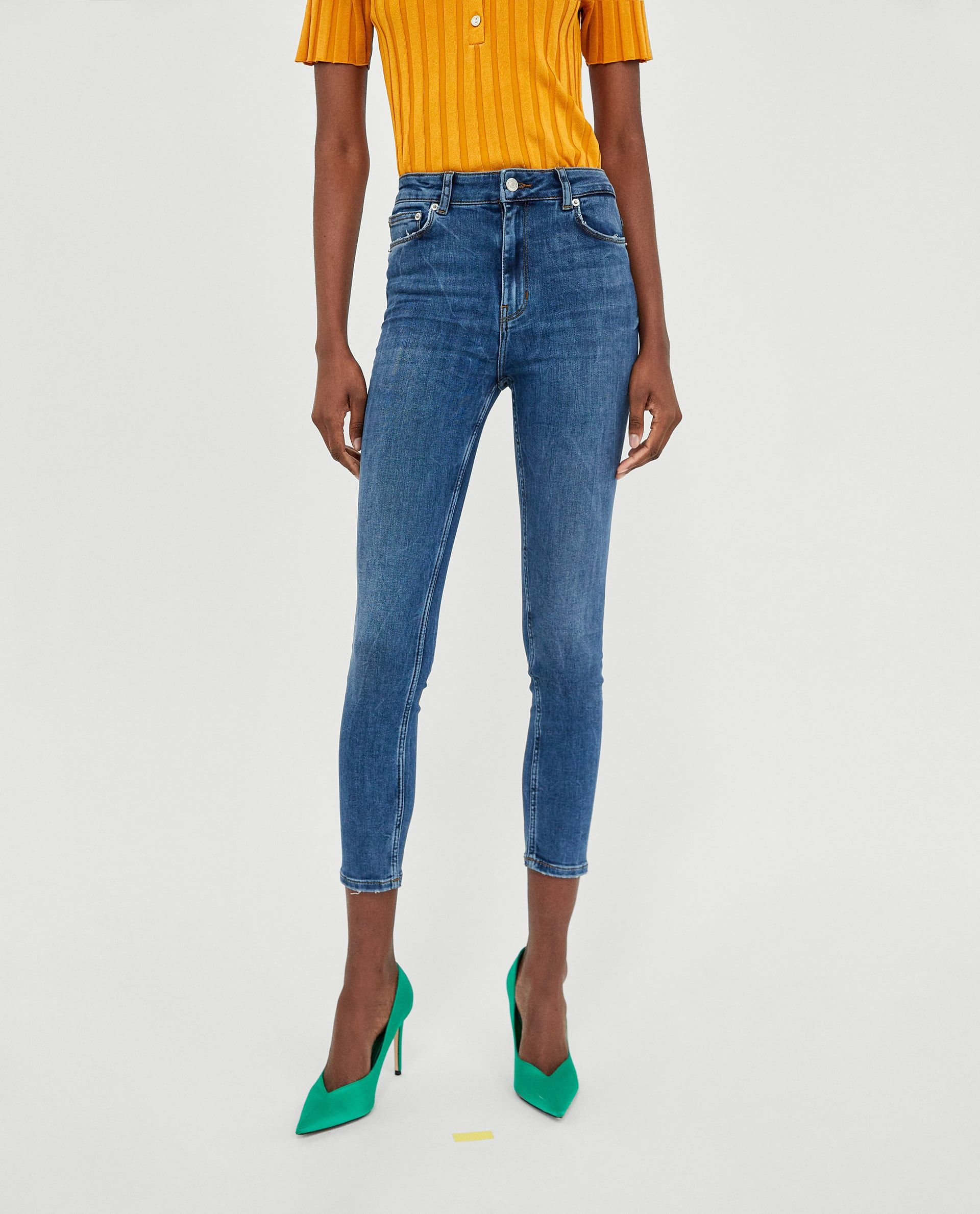 b972bb33 JEANS HIGH WAIST LIGHT BLEND | Jns | High jeans, Jeans, High waist jeans