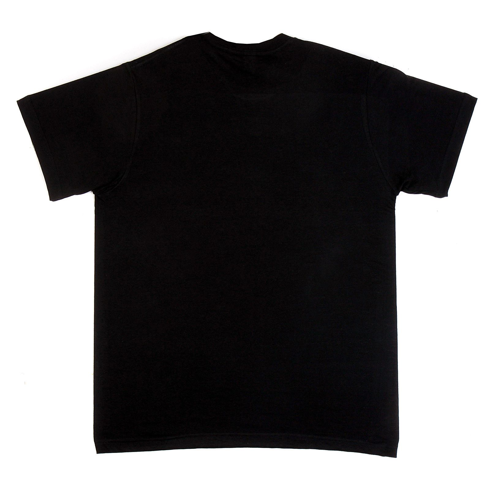 Black t shirt plain front and back - Black Simple Black T Shirt