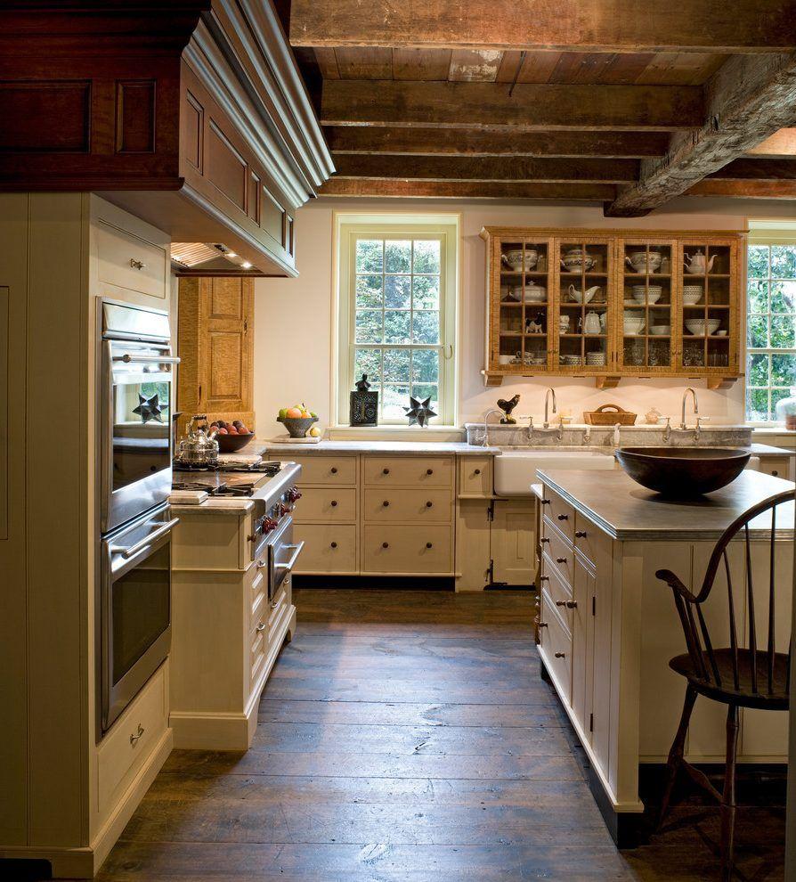distressed milk paint kitchen cabinets kitchen farmhouse ...