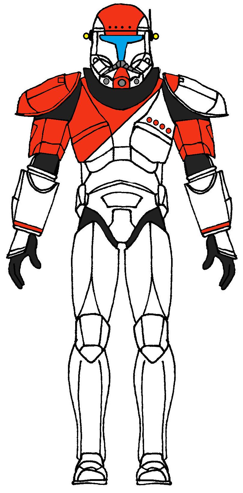 Clone Trooper Commando Boss | Clone Trooper Characters | Pinterest