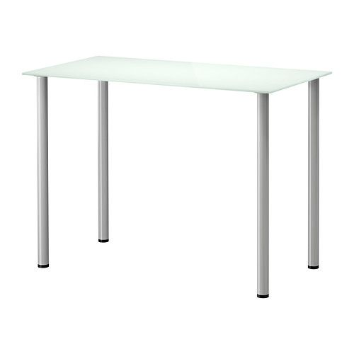 Cheap kids desk option for under loft beds GLASHOLM ADILS Table