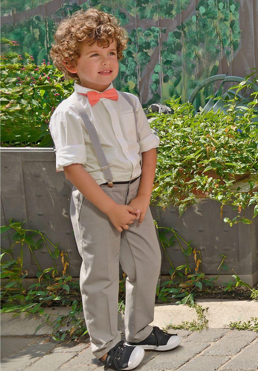 Toddler boy dress clothes for wedding  Chemise de cérémonie Garçon et Bébé Ivoire  Tenue cérémonie enfants