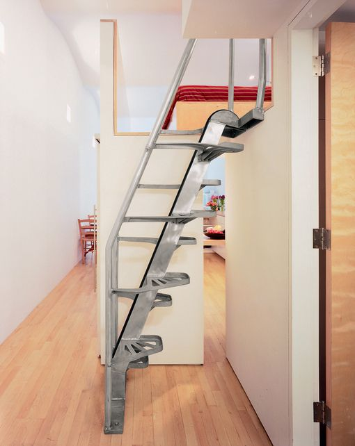 Cost Effective Loft Stair Space Saving Staircase Staircase Design Tiny House Stairs