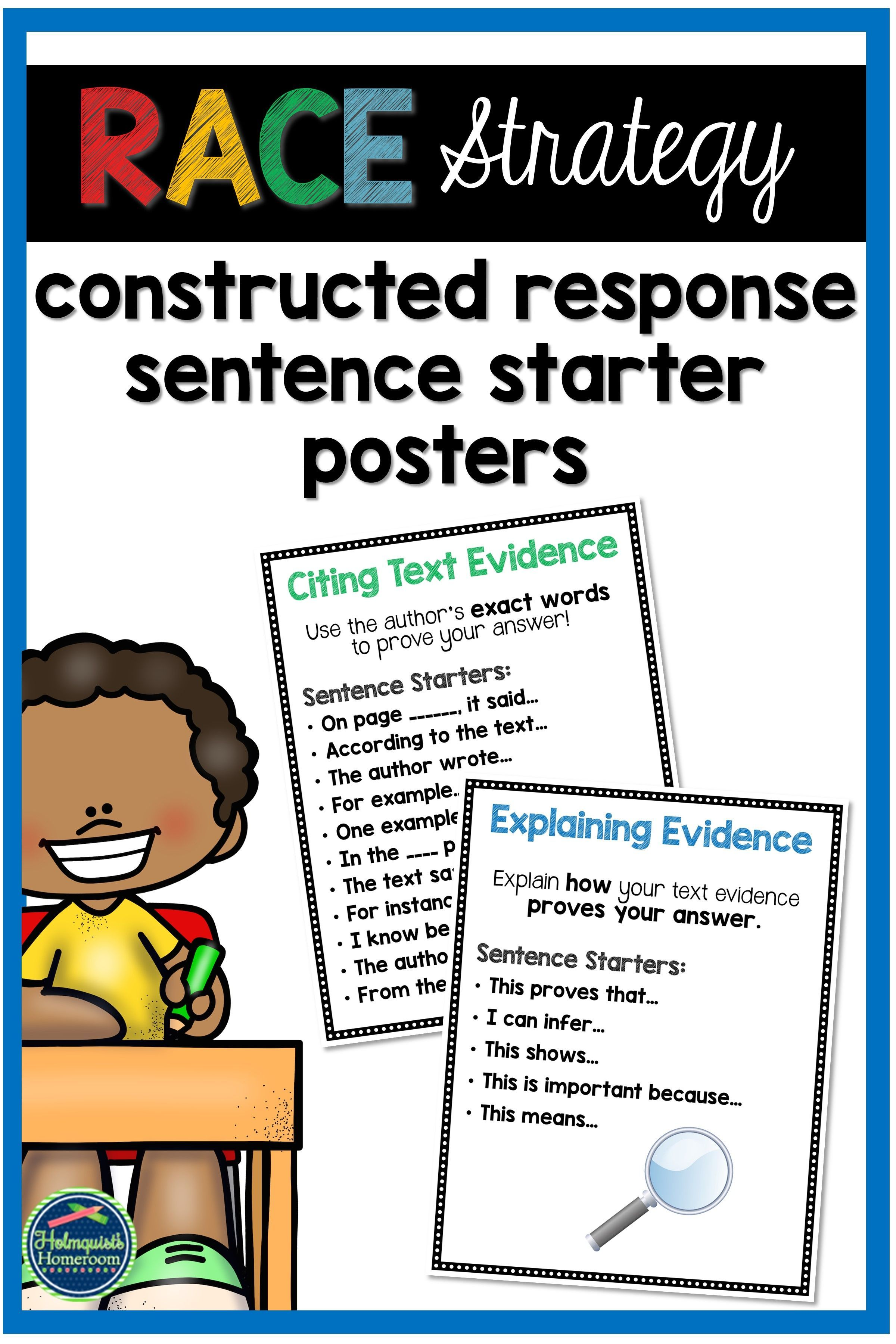These Race Strategy Sentence Starters Can Be Used In So Many Ways In Your Classroom They Re A Perfect T Sentence Starters Races Writing Strategy Race Writing [ 3600 x 2400 Pixel ]