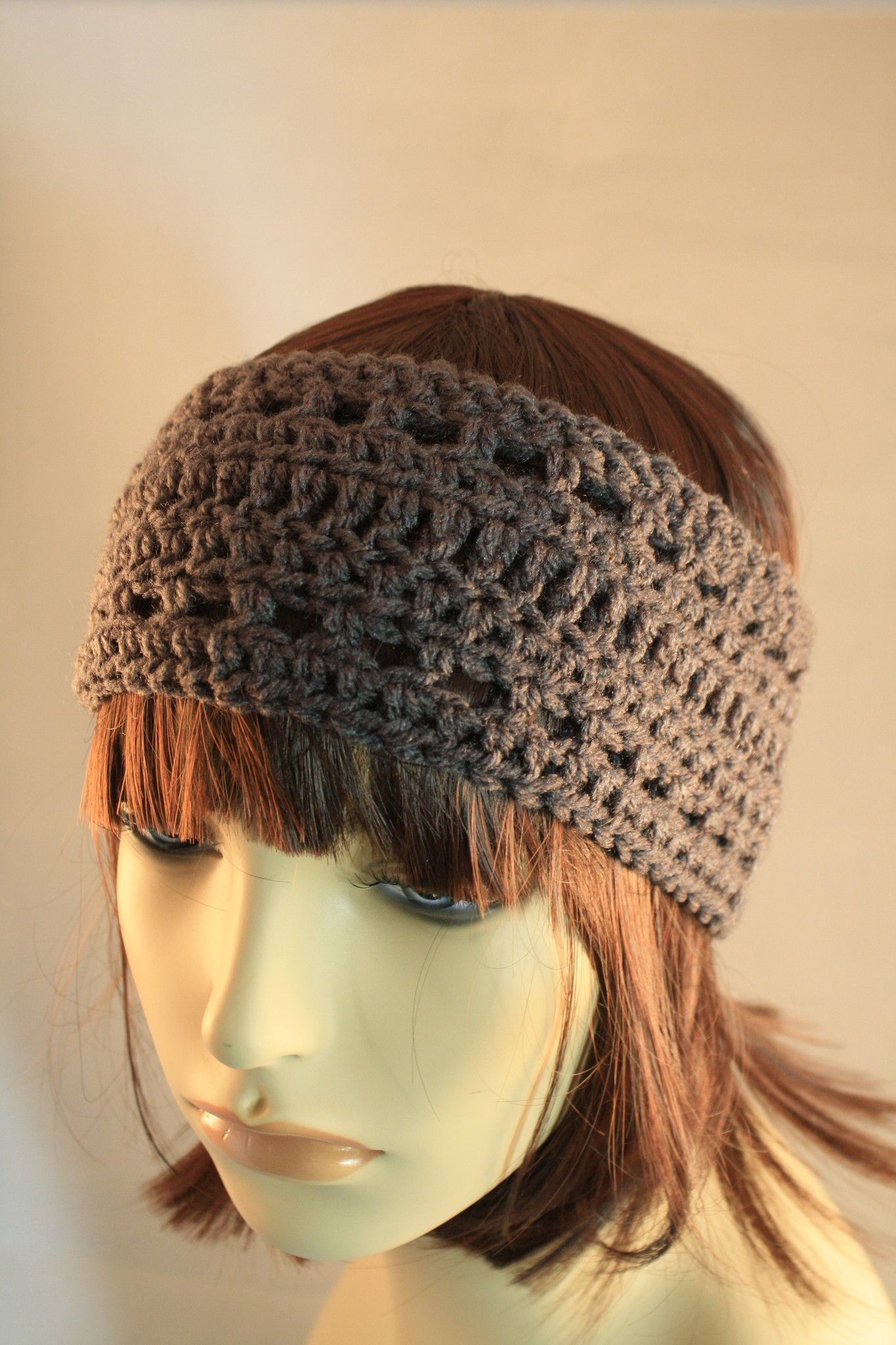 Heather Grey Ear Warmer/Headband | vinchas | Pinterest