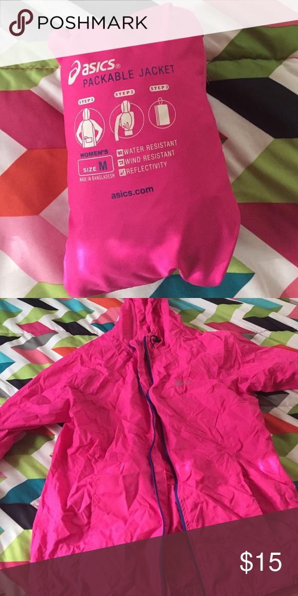 simpático Hundimiento Prefijo  Asics Packable Jacket A jacket that pops out of a cute little pack! Asics  Jackets & Coats | Packable jacket, Packable, Jackets