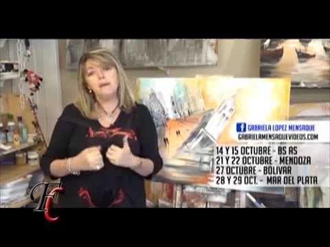 Fusión Crear 14-10-2016 GABRIELA MENSAQUE - YouTube