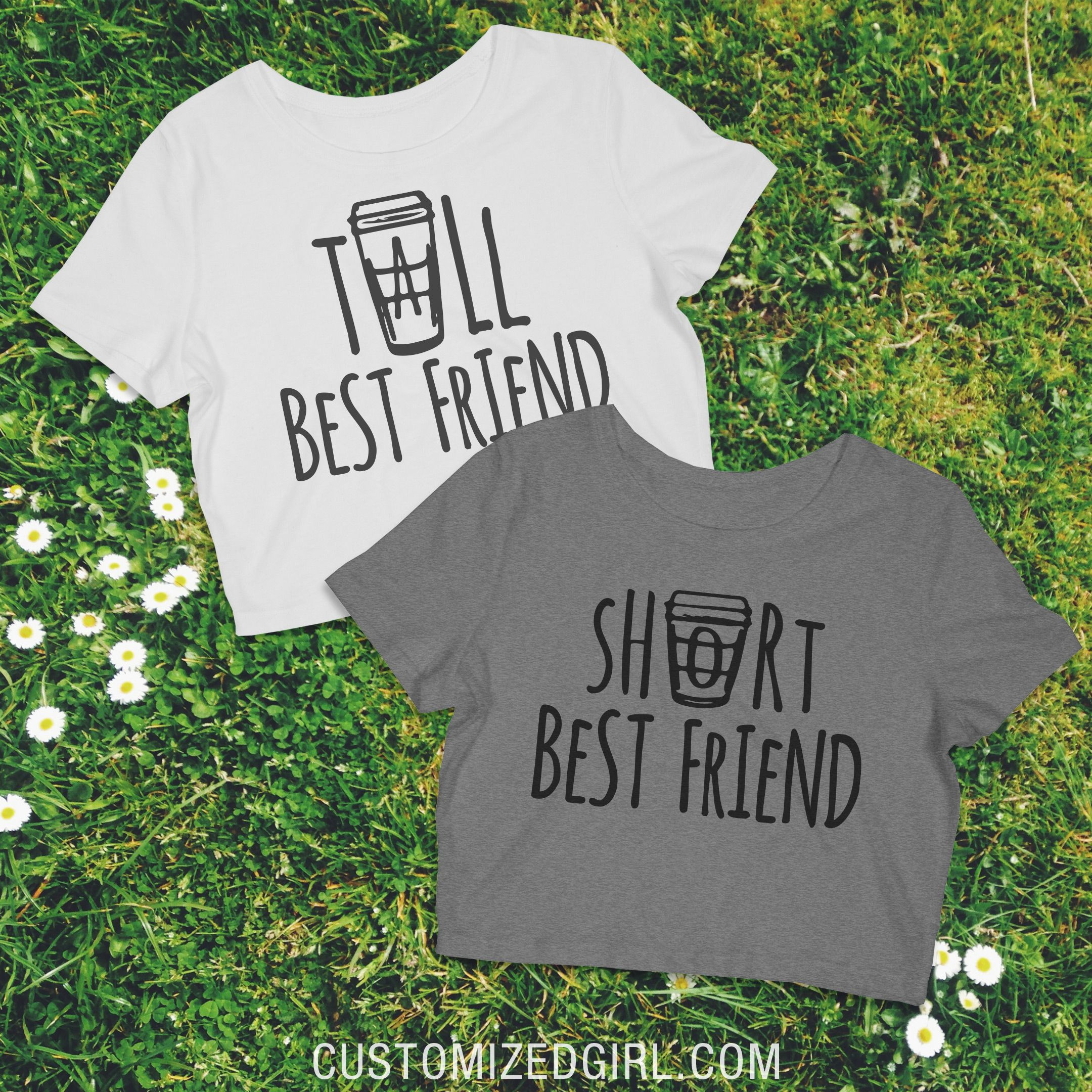 f896c2d3b Tall Best Friend Latte - Matching best friend shirts. Tall best friend and  short best friend. #starbucks #coffee #bffshirts