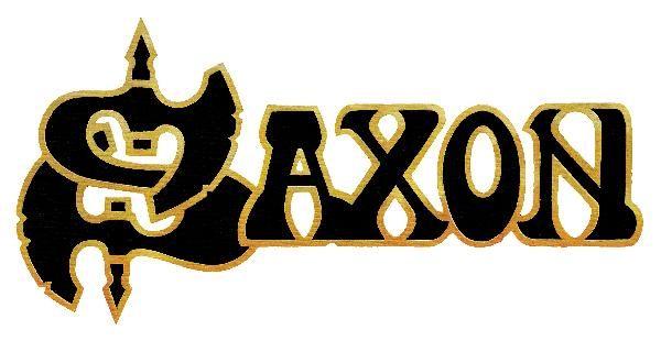 pin by v clav tochl on saxon pinterest saxon band metal bands rh pinterest com Hard Rock Band Logos 70s Rock Bands Logos
