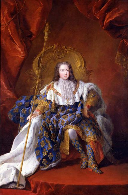 Louis XV, 1723 by Alexis-Simon Belle   Louis xv, Potrait painting ...