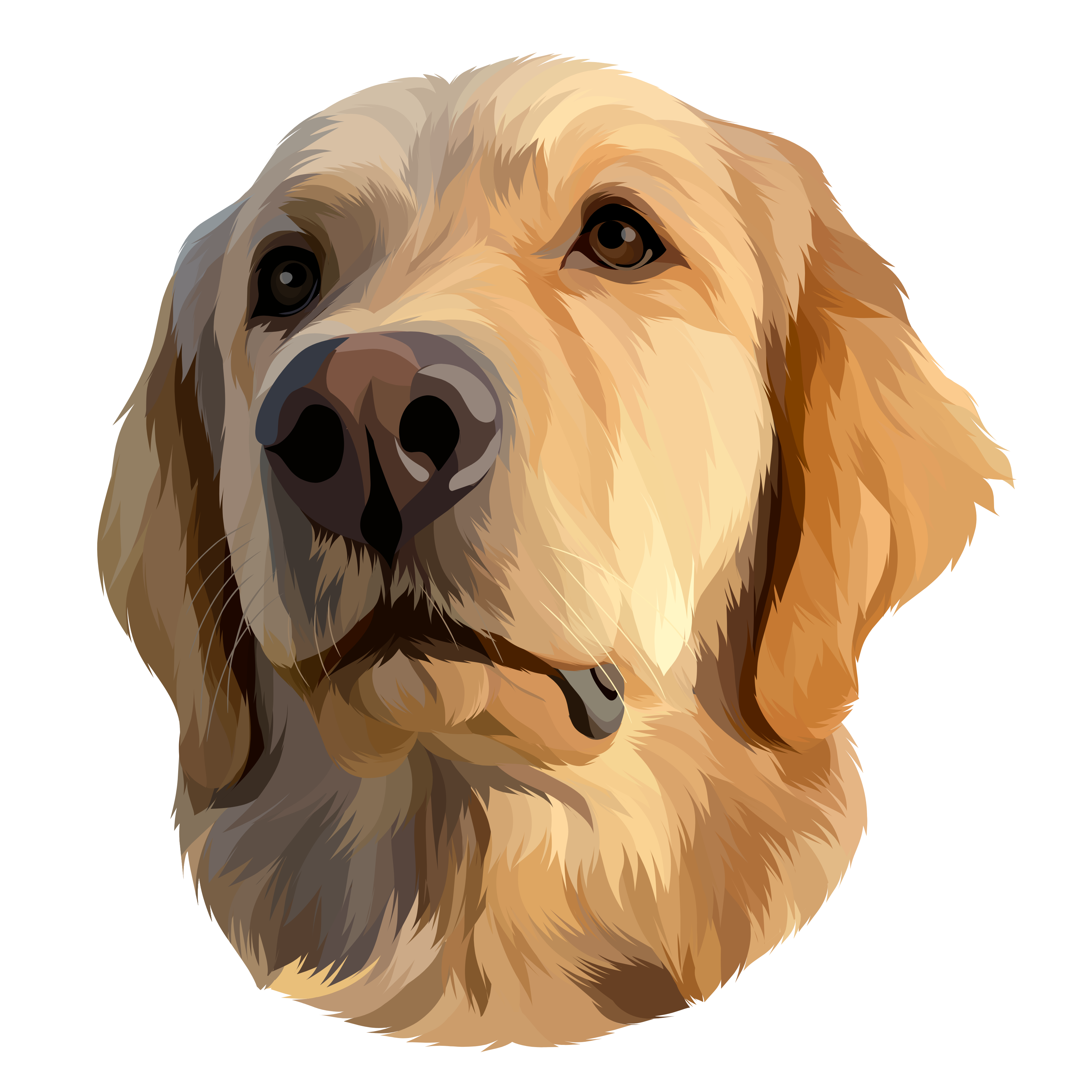 Golden Retriever Clipart Vector 59 Dog Silhouette Silhouette Png Silhouette
