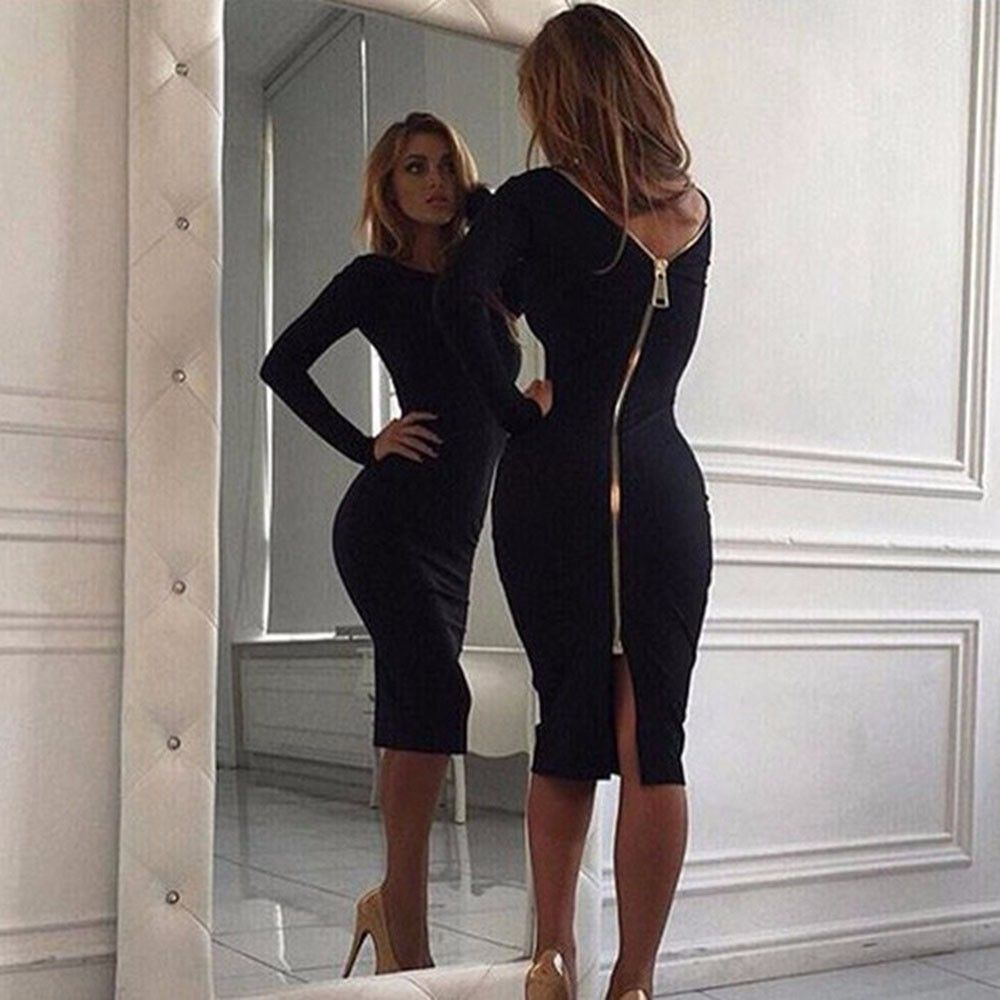 Fashion week Winter Sexy dresses for woman