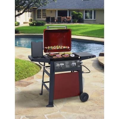 Brinkmann 2 Burner Propane Gas Grill 810 4220 S The Home