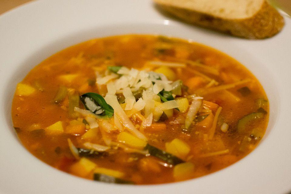 Italienische Minestrone | Chefkoch #healthycrockpots
