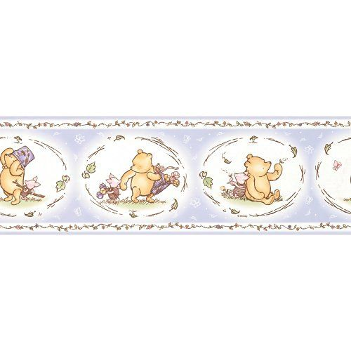 Imperial Disney Home DF059324B Pooh Classic Wall Border