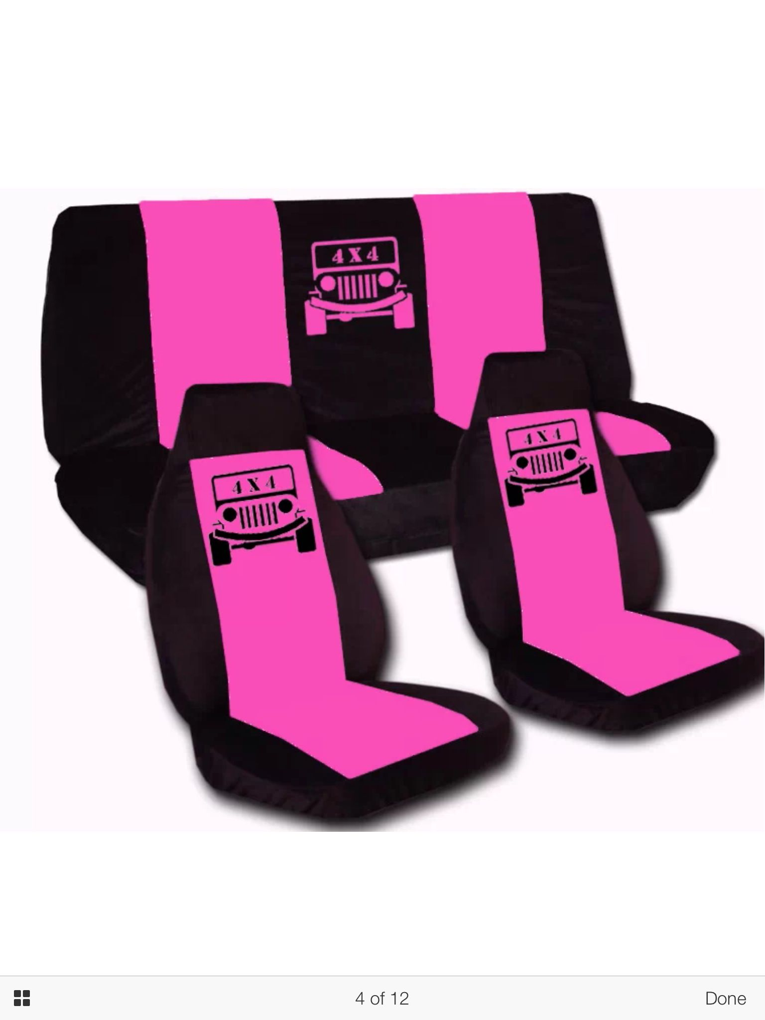 Pin by Molly Simpson on Jeep Pink seat covers, Jeep