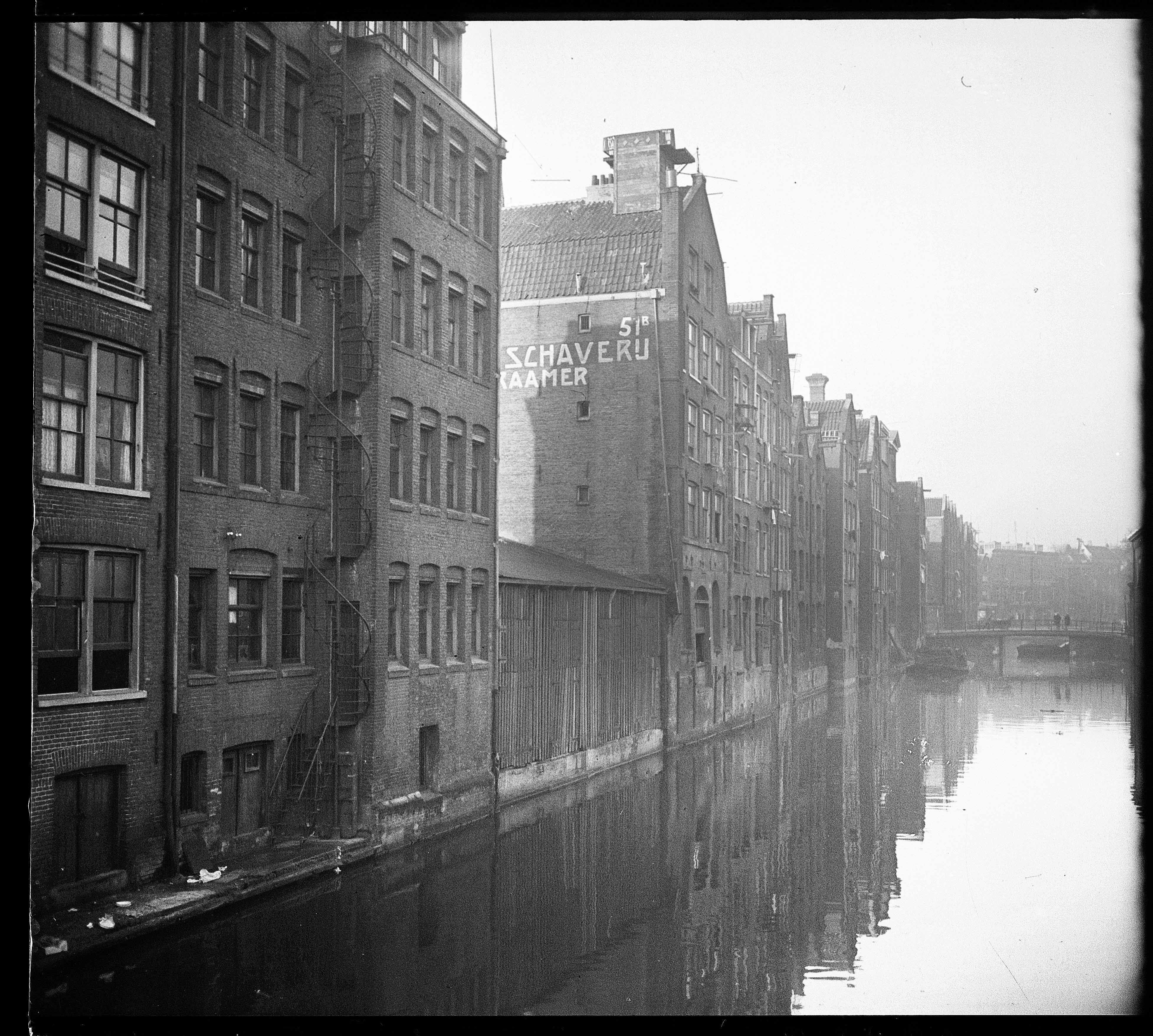 1930 A View Of The Joden Houttuinen In Amsterdam Amsterdam