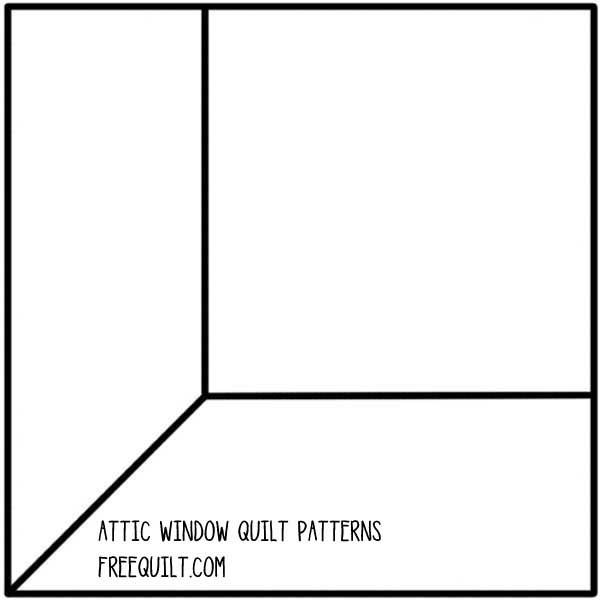 attic window quilt patterns barn quilts pinterest attic window attic and template. Black Bedroom Furniture Sets. Home Design Ideas