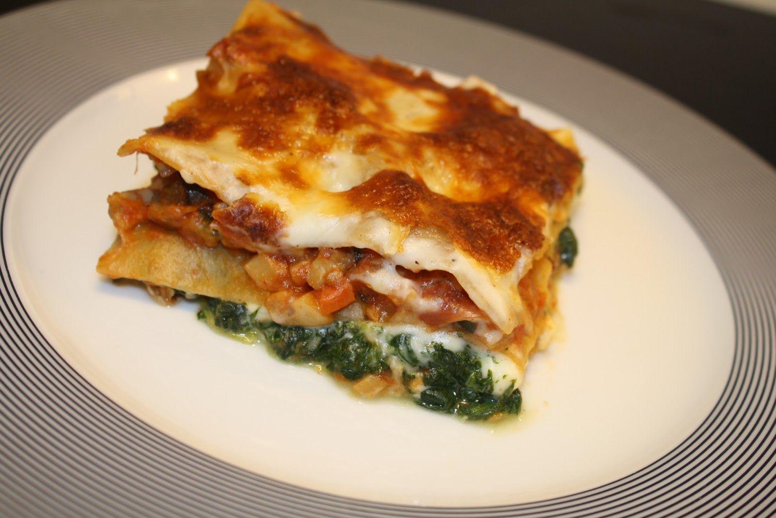 Vegetarlasagne med masser af smag! | Super lækker lasagne uden kød