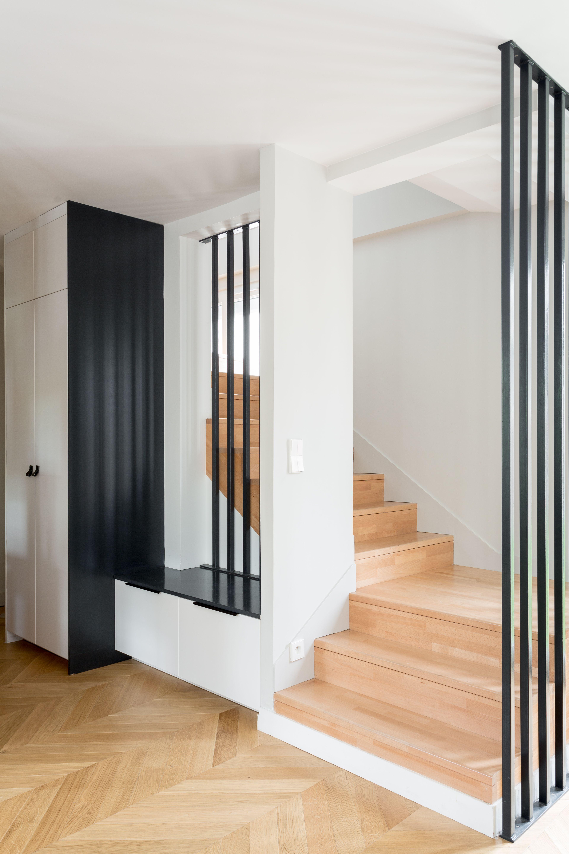 Escalier En Bois Avec Rangement rénovation complète d'une maison à deux pas de paris