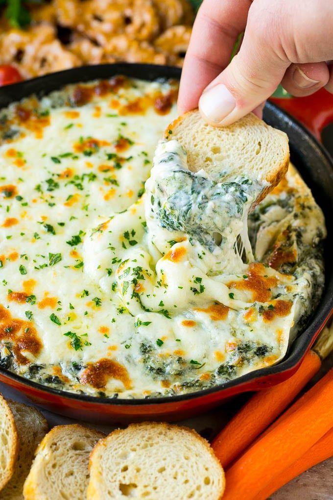 Spinach Dip Recipe | Cheese Dip | Hot Dip