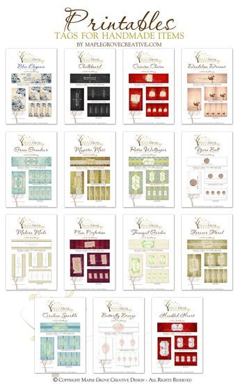 Crochet labels printables | Crochet | Pinterest