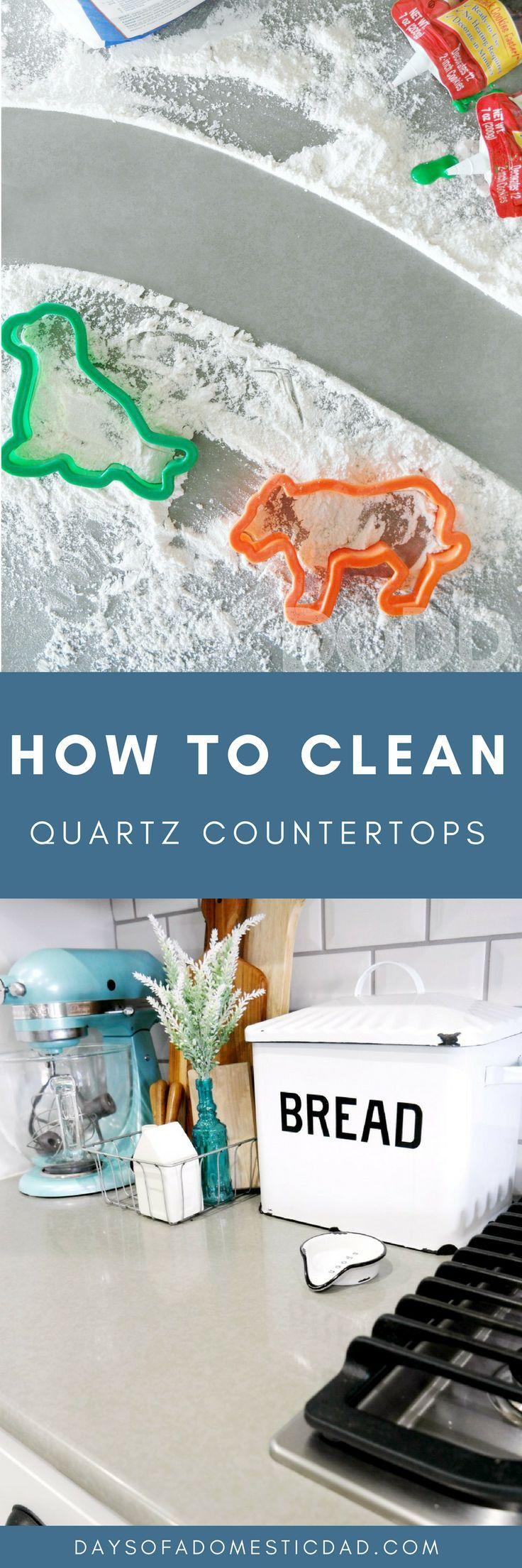 How to Clean Quartz Countertops How to clean quartz