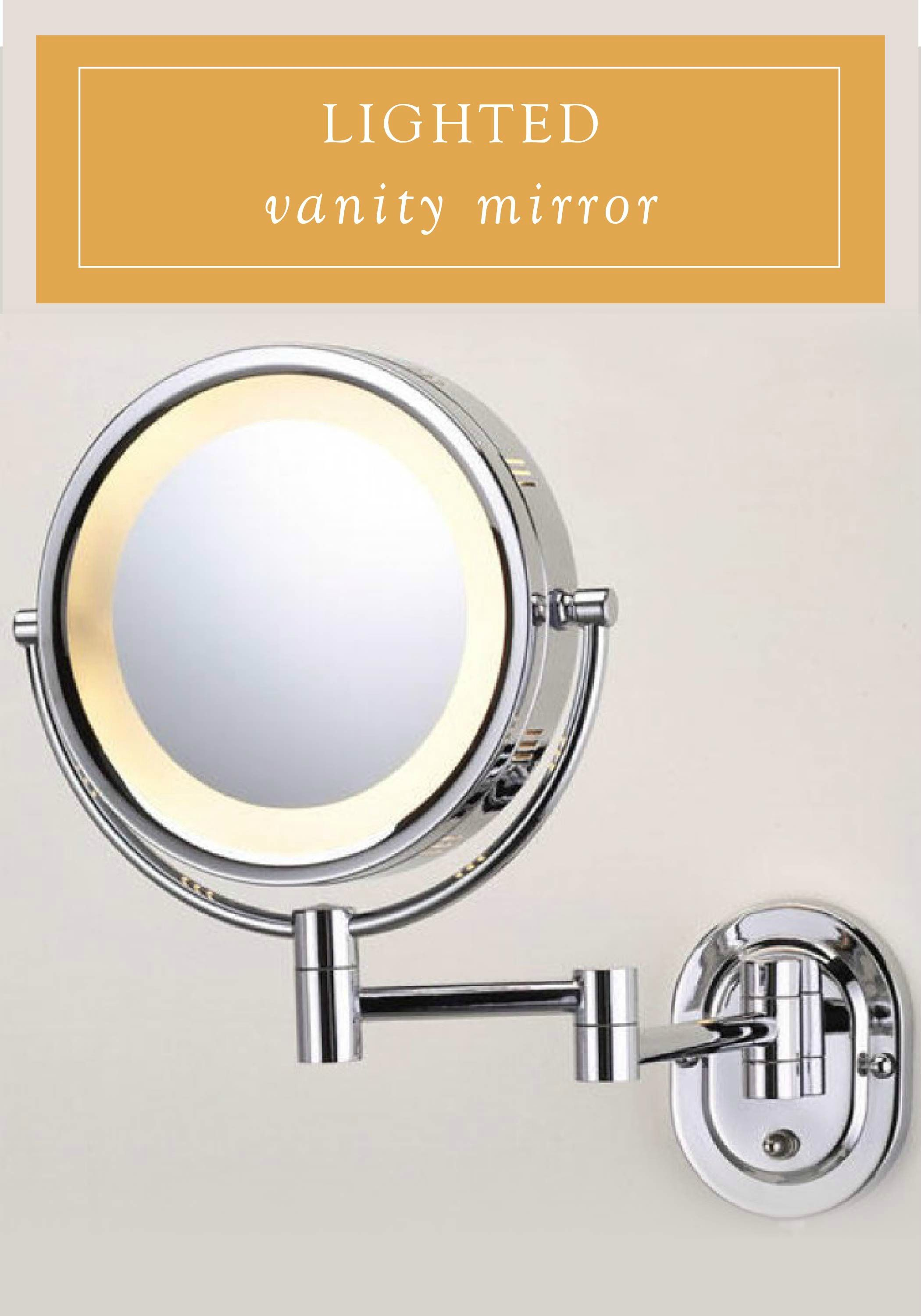 Swinging lighted wall mirror images 146