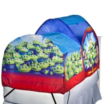 Toy Story Bed Tent  sc 1 st  Pinterest & Toy Story Bed Tent | Skyleru0027s 3rd bday party | Pinterest | Toy ...