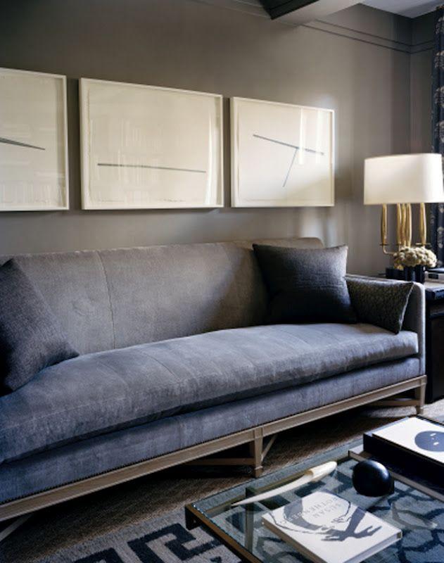 Tableaux Couleurs Living Rooms Pinterest Dark Sofa