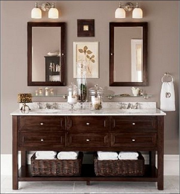 Pictures In Gallery Double Sink Bathroom Vanity Decorating Ideas