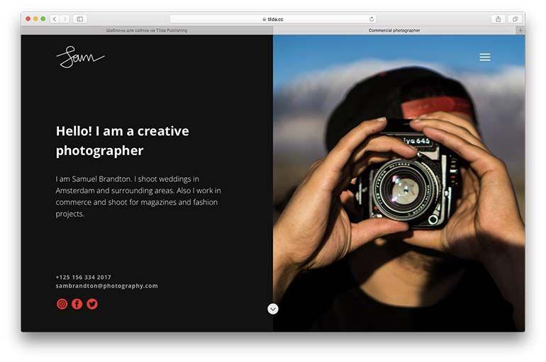 журналистов как сделать сайт фотографа все ваши