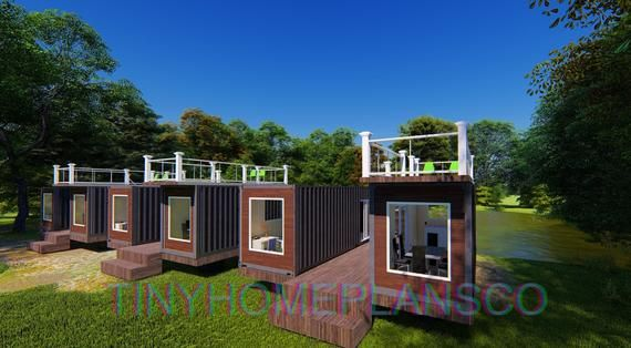 Container Home Architectural Plan + Design | 2020