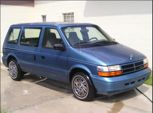 1994 Dodge Caravan Owners Manual For The 1994 Model Year Chrysler Has Created Subtle But Important Changes To The Mini Van Colle Dodge Caravan Grand Caravan