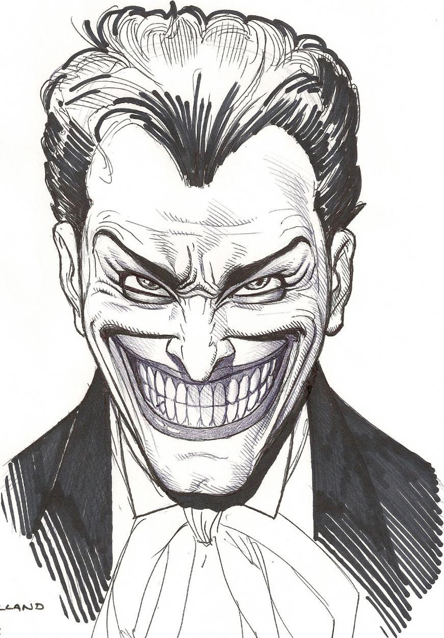 Image Detail For Joker Face In Rich Cirillos Brian Bolland