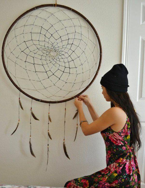 traumf nger selber basteln einfache anleitung mit 29 ideen in bildern zuk nftige projekte. Black Bedroom Furniture Sets. Home Design Ideas