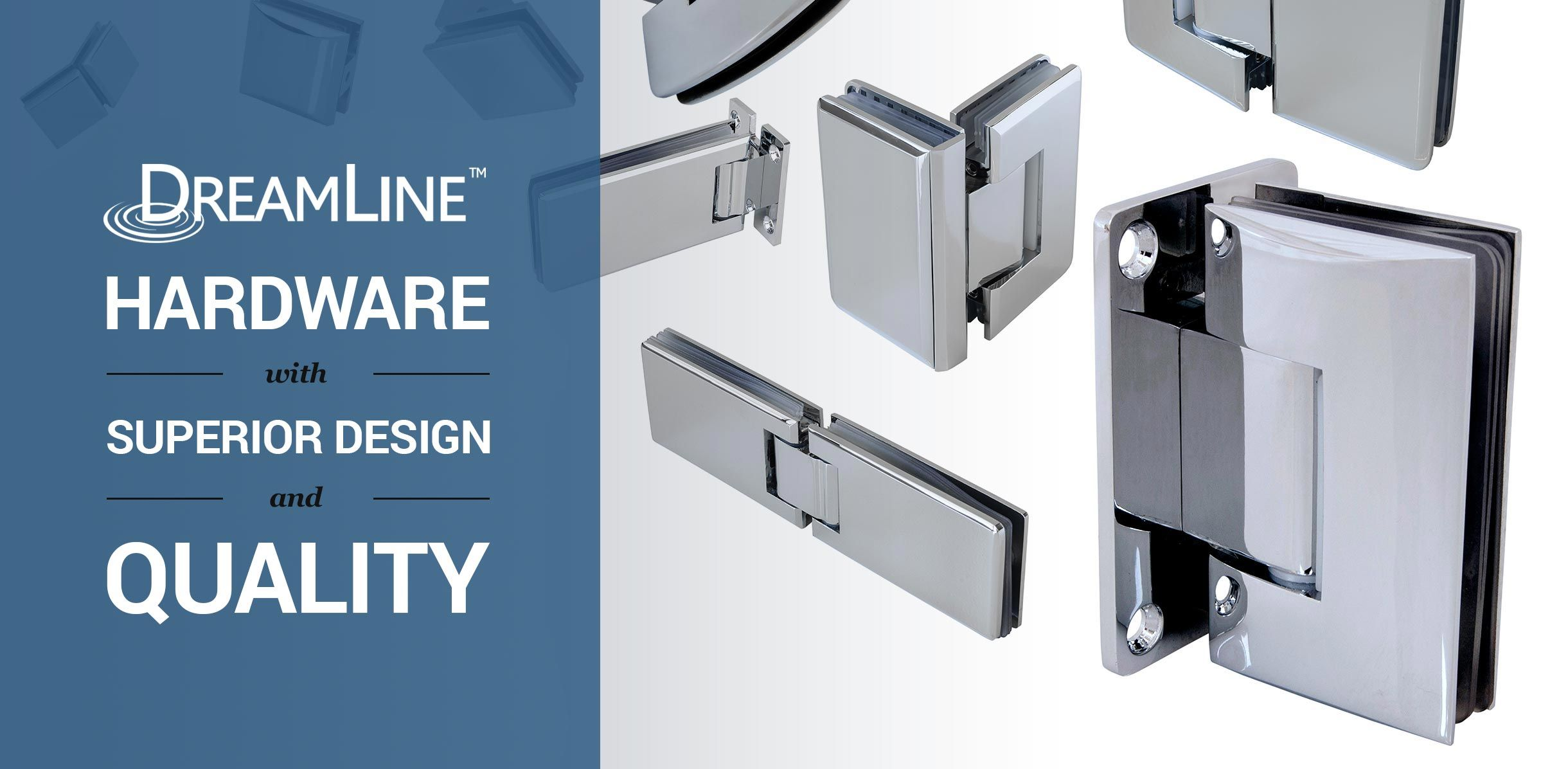 DreamLine Shower Door Hardware. EmeraldShowerDoor.com | Shower Door ...