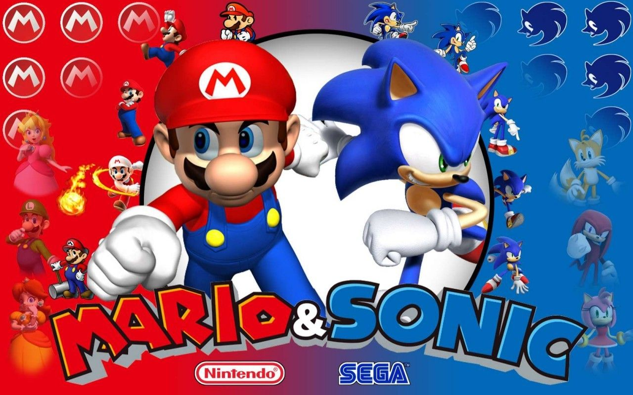 7 Mario Sonic At The Olympic Games Hd Wallpapers Backgrounds
