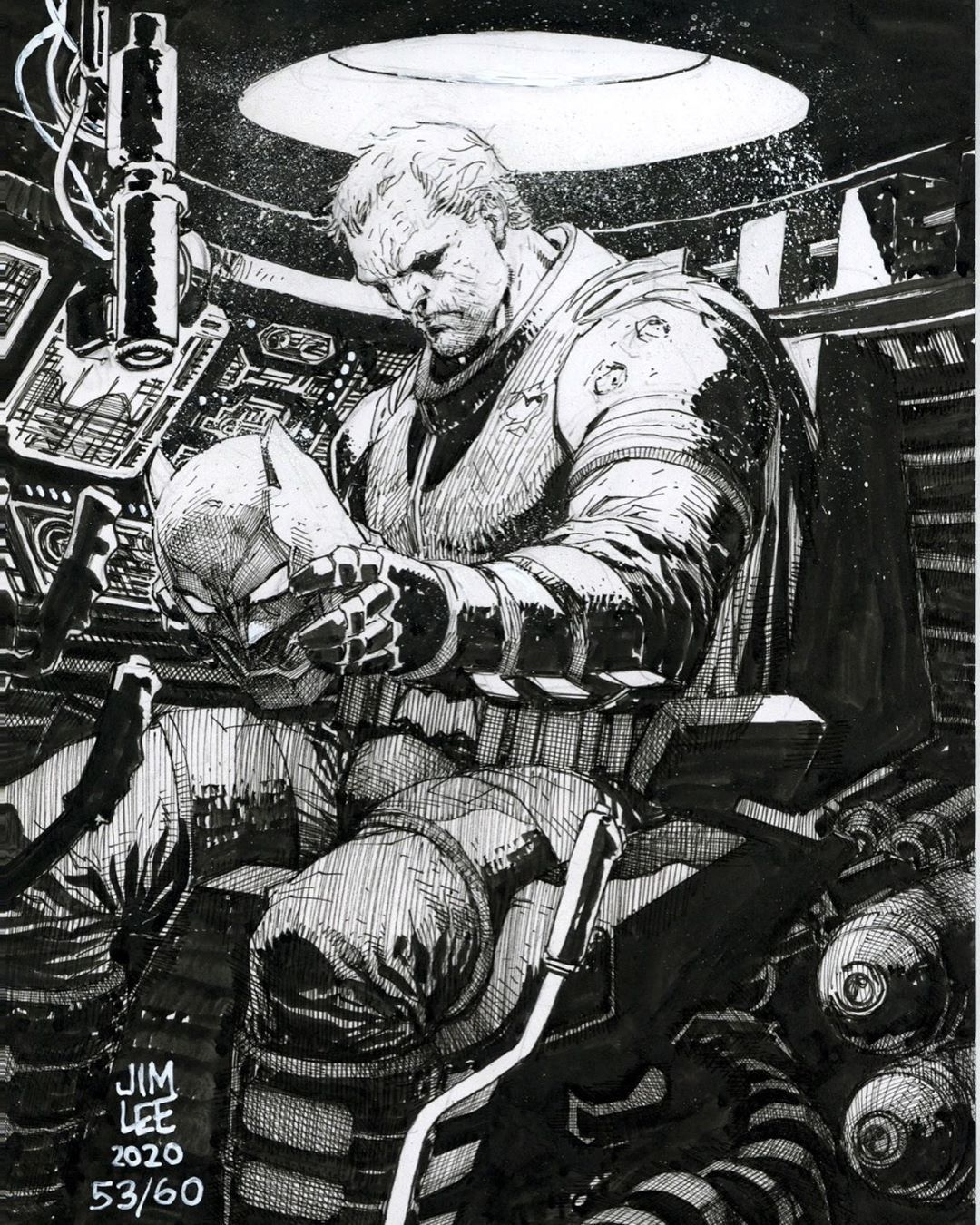 Jim Lee On Instagram The Feeling When You Get After Realizing Dcfandome Part 1 Is Over Batman The Dark Knight Returns Or In 2020 Jim Lee Art Dc Comics Art Jim Lee