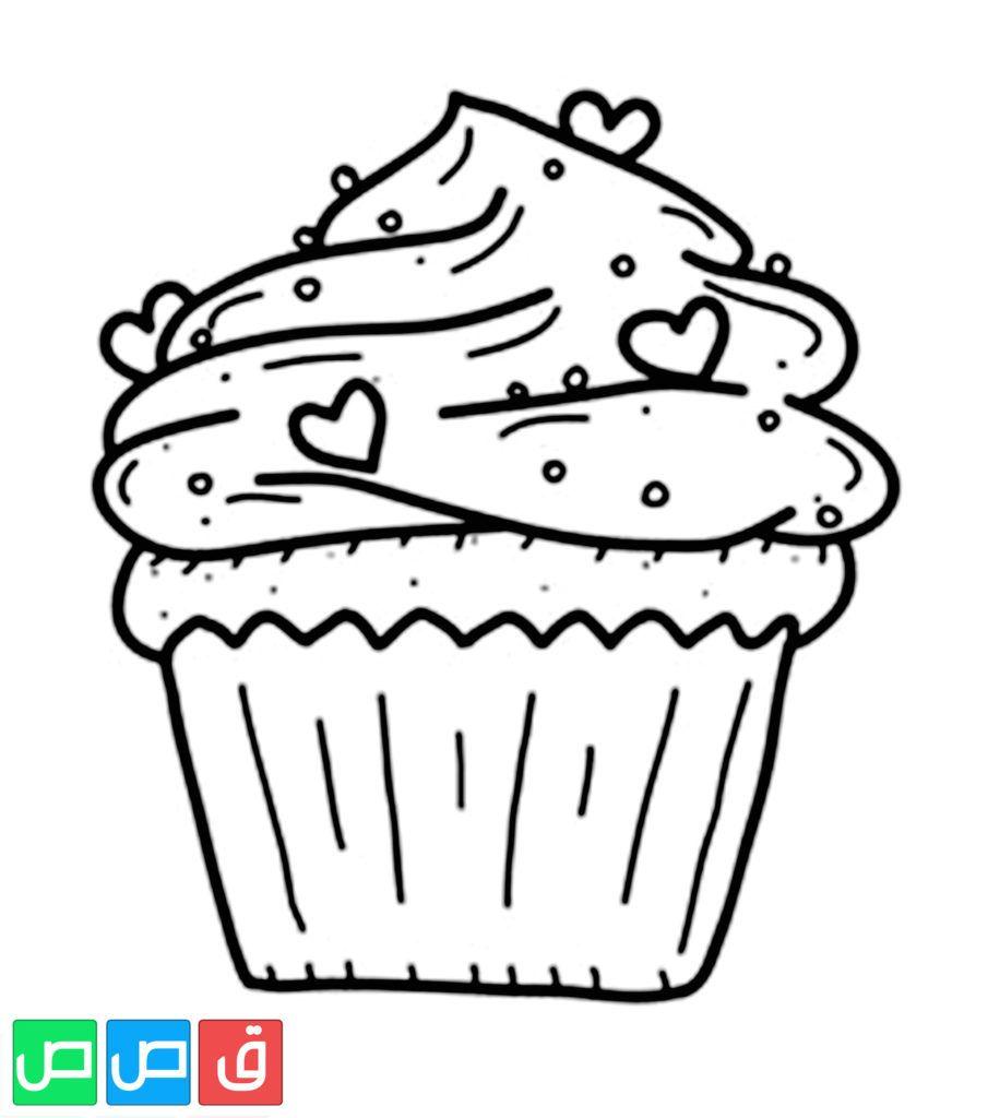 رسومات تلوين للاطفال In 2020 Cupcake Coloring Pages Food Coloring Pages Coloring Pages Inspirational
