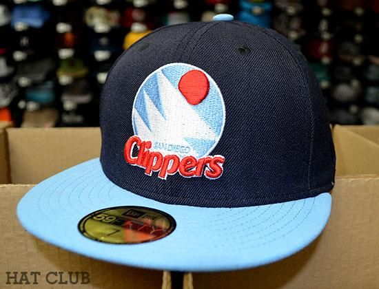 cd95697ec68 San Diego Clippers 59Fifty Fitted Caps by NEW ERA x NBA Available   HAT CLUB