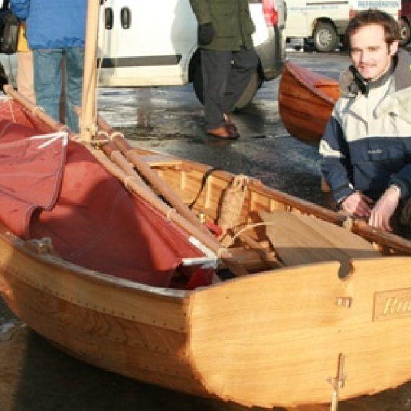 7′ Pram Dinghy – Kyle Paternoster – Boat Building Academy