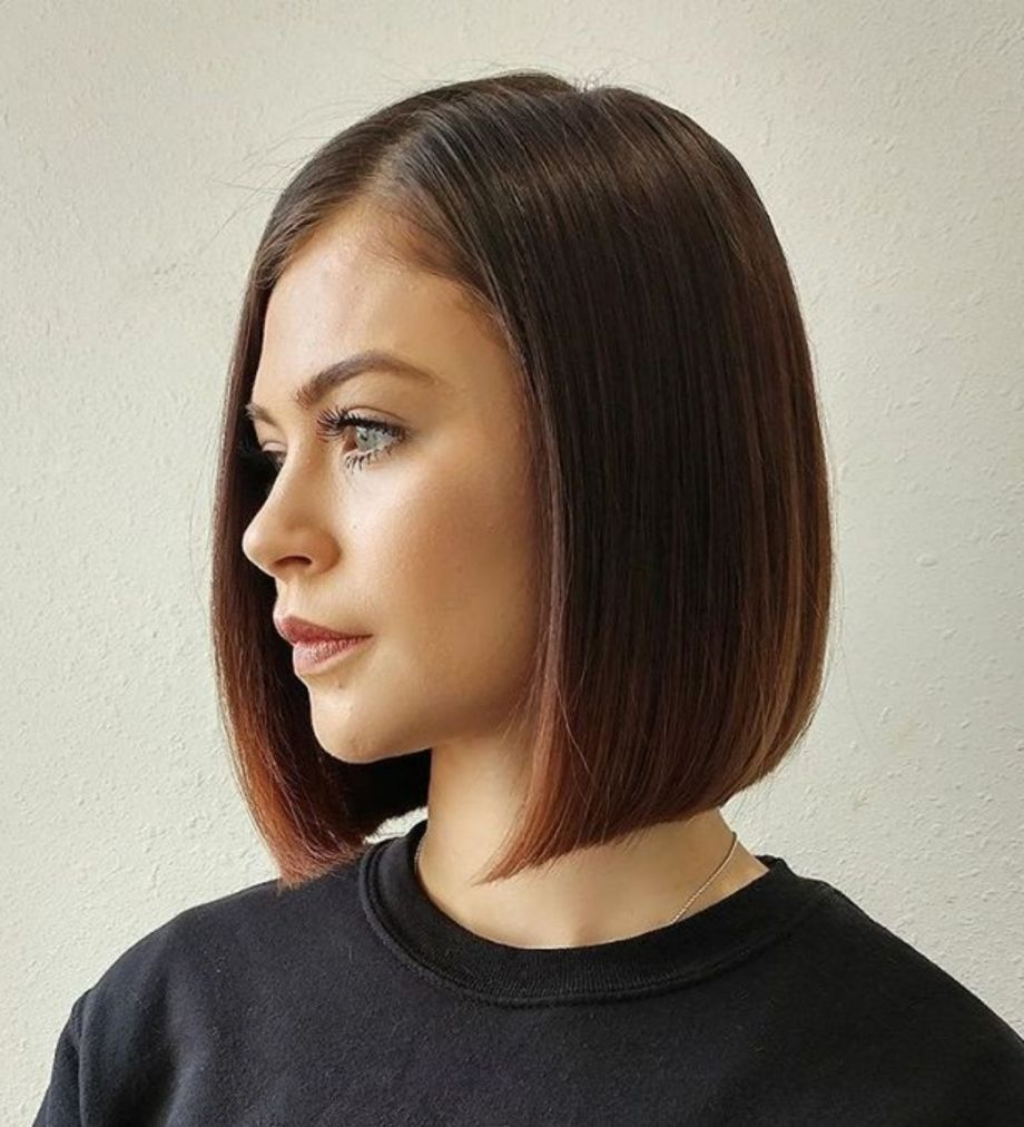 50 Spectacular Blunt Bob Hairstyles Hair Styles Long Bob Hairstyles Straight Bob Hairstyles