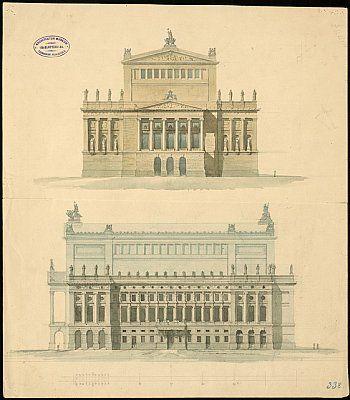 Deutsche Fotothek Alte Architektur Architektur Zeichnungen Architekturzeichnung